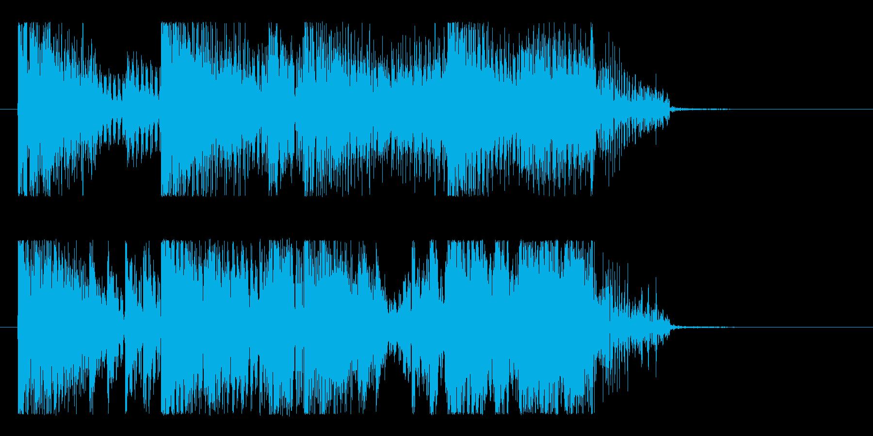 ハード&重低音のダブステップロゴ!!の再生済みの波形