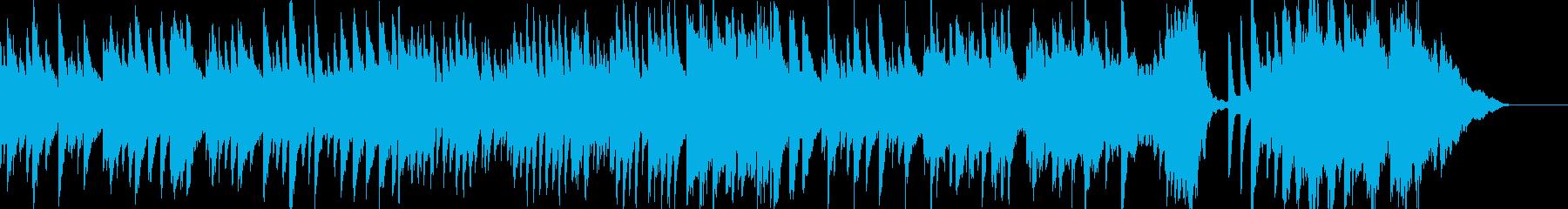 子どもの誕生日を祝ったピアノ曲1の再生済みの波形