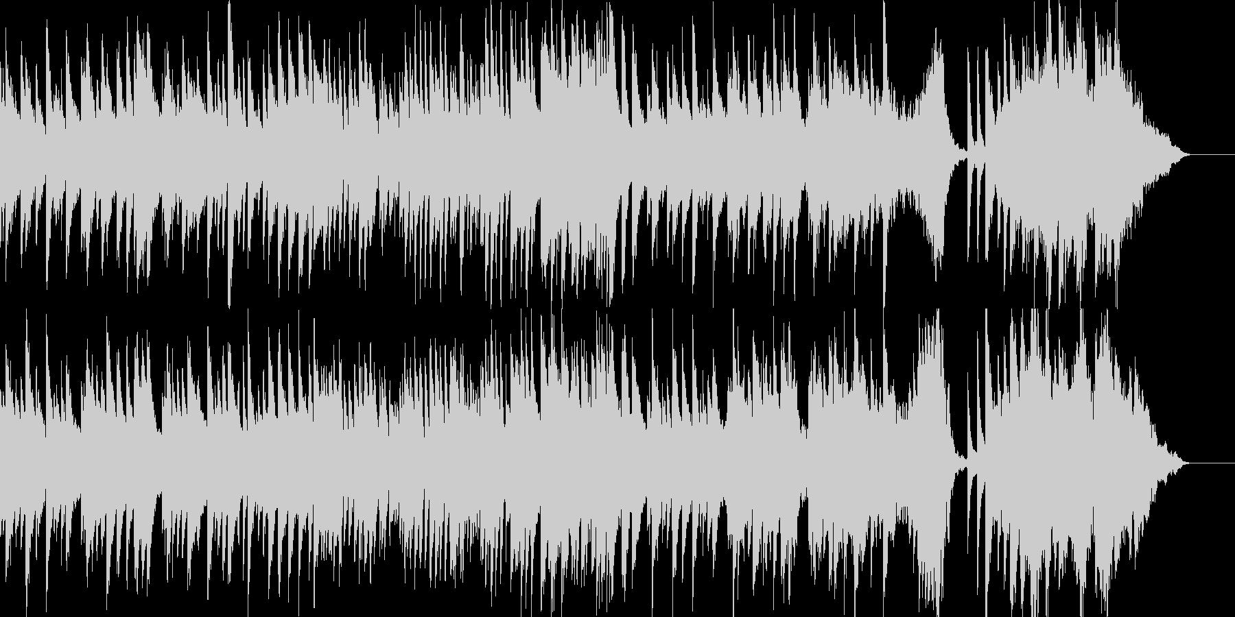 子どもの誕生日を祝ったピアノ曲1の未再生の波形
