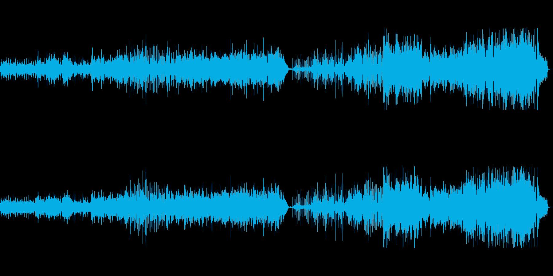 オリエンタルなポップインストの再生済みの波形