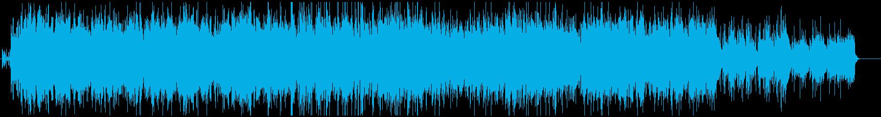 クールで爽やかな、ゲーム向けBGMの再生済みの波形