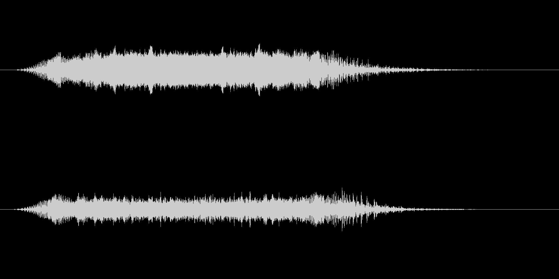 【ショートブリッジ06-1】の未再生の波形