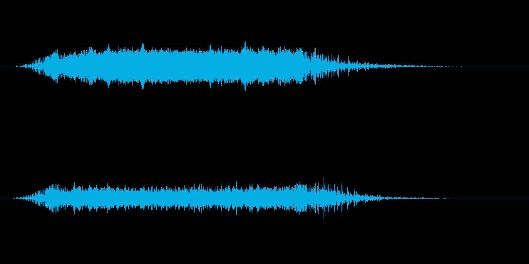 【ショートブリッジ06-1】の再生済みの波形