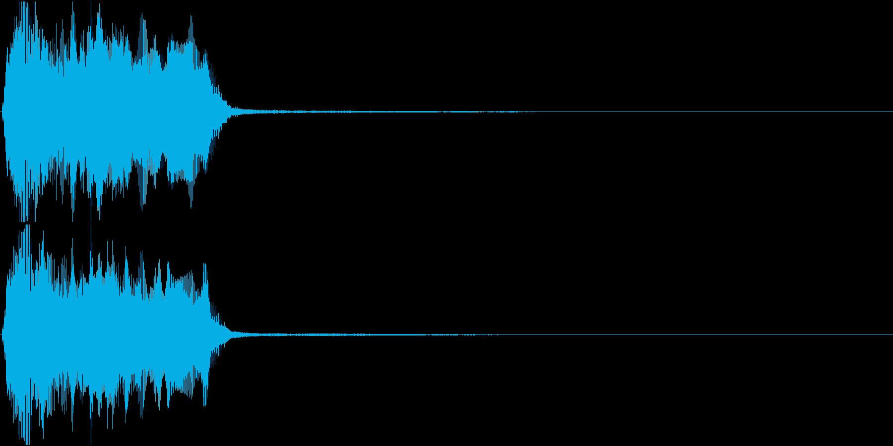 トランペット ファンファーレ 定番 9の再生済みの波形