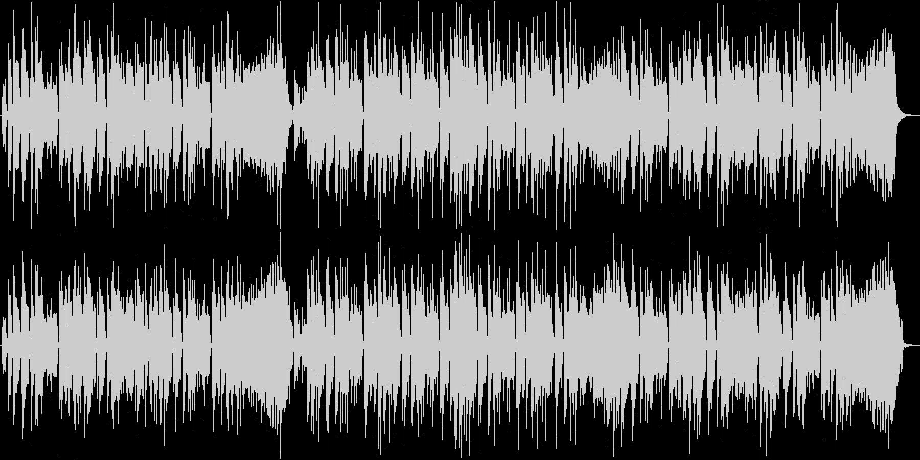 シンセリードによるのファンキーなジングルの未再生の波形