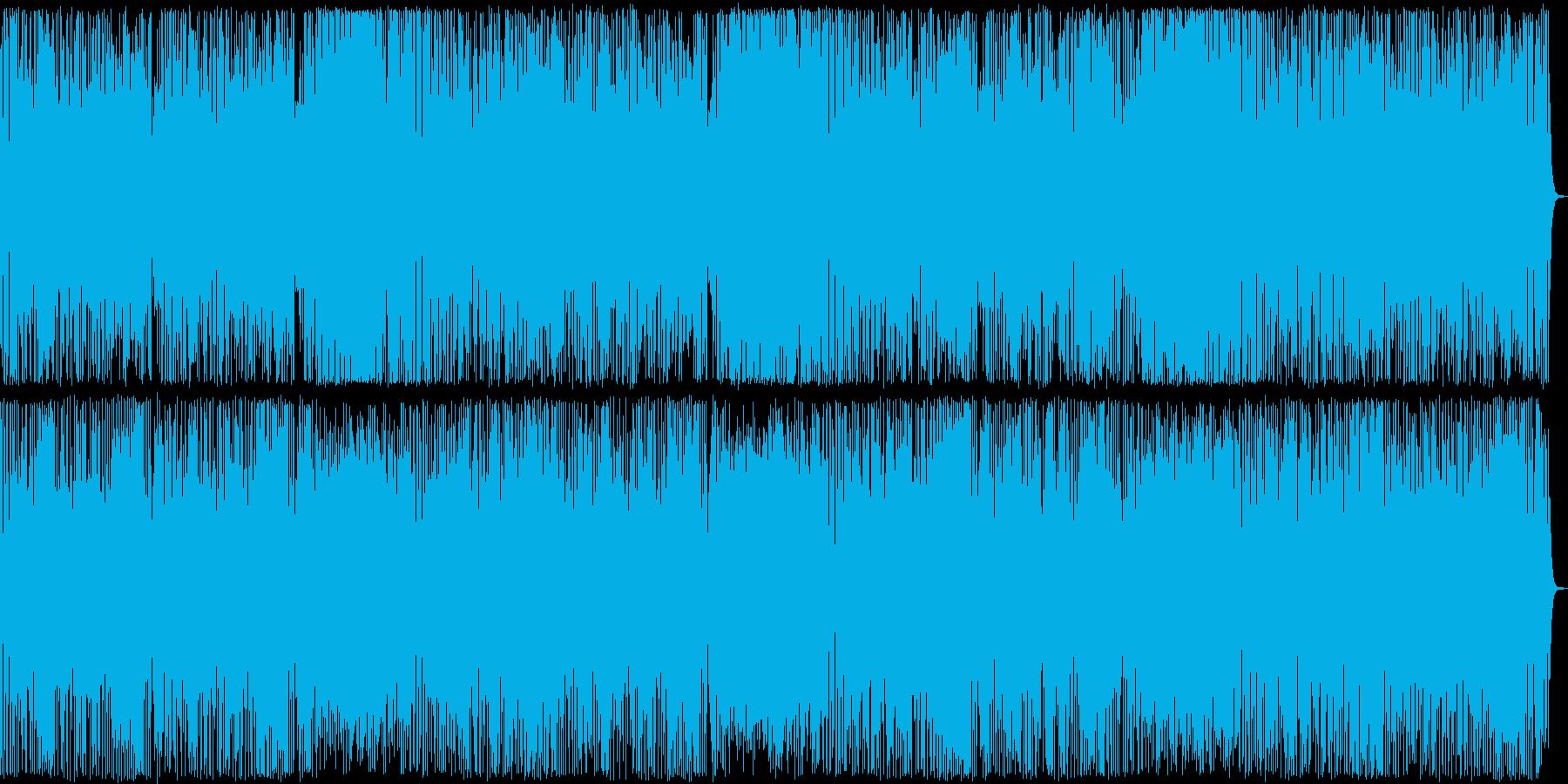 クールな軽快ポップスの再生済みの波形