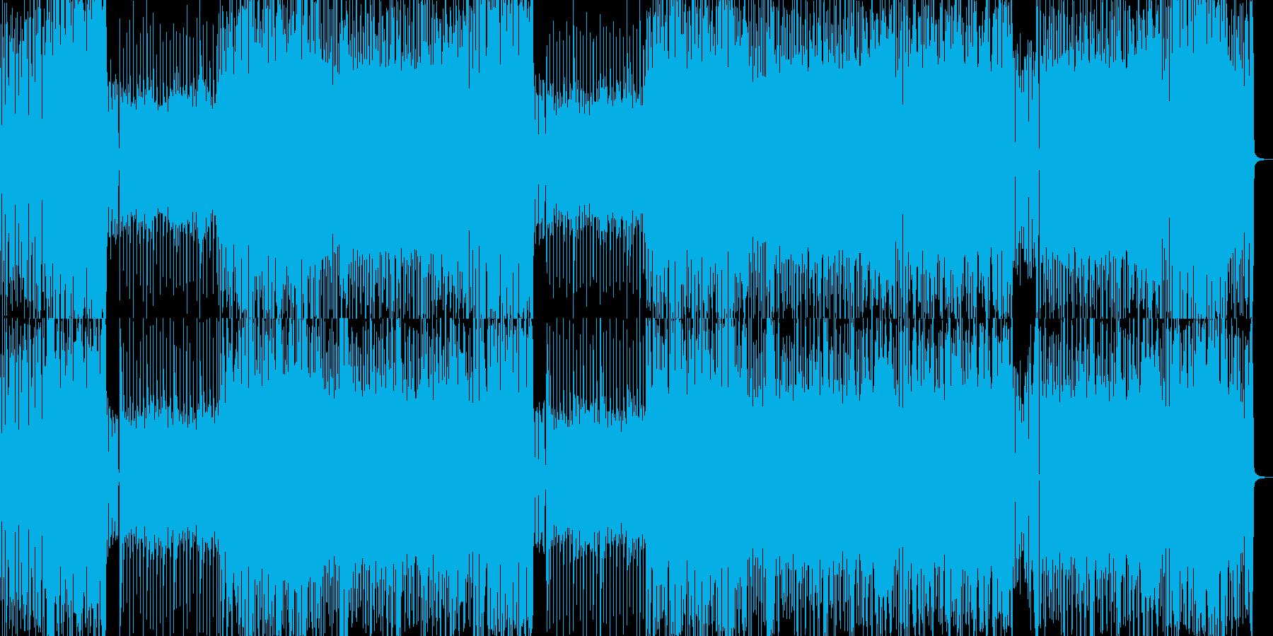 怪しさを漂わせるメタルの再生済みの波形