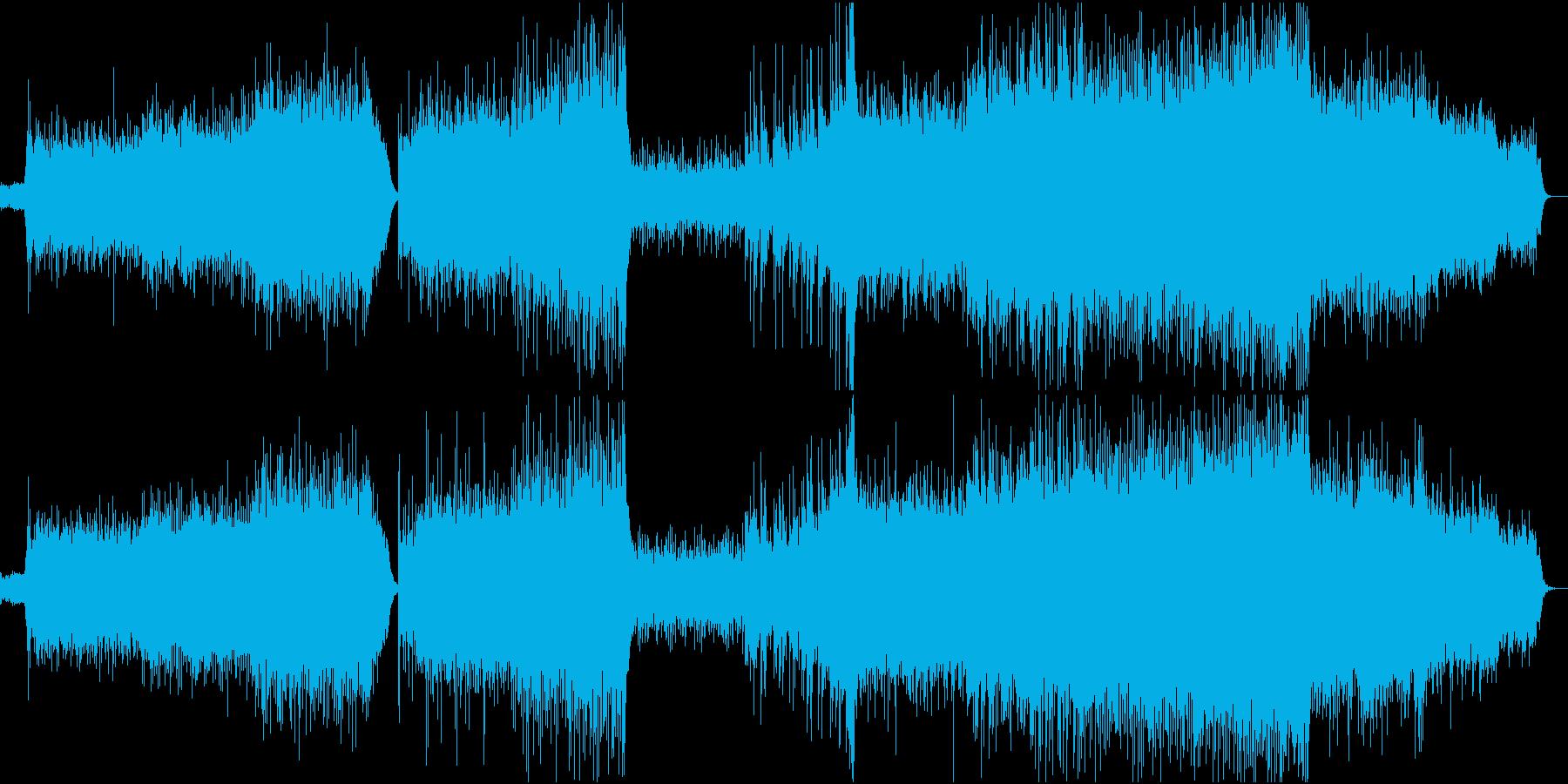 アジアンテイストエレクトロ哀愁系の再生済みの波形
