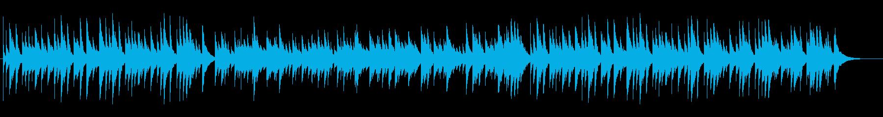 和風テイストのオルゴール曲/回想・涙の再生済みの波形