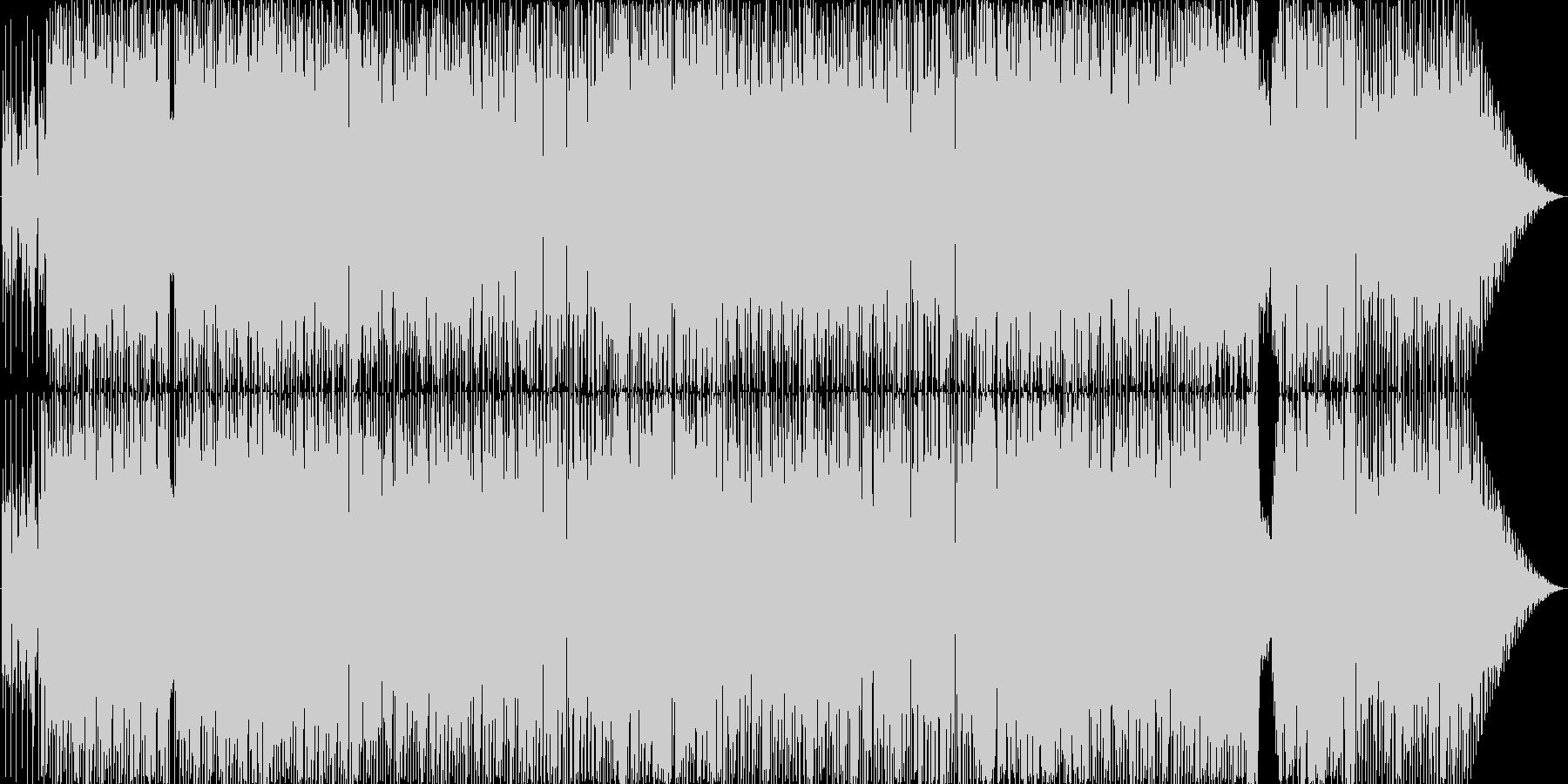 おしゃれでエキサイティングなファンクの未再生の波形