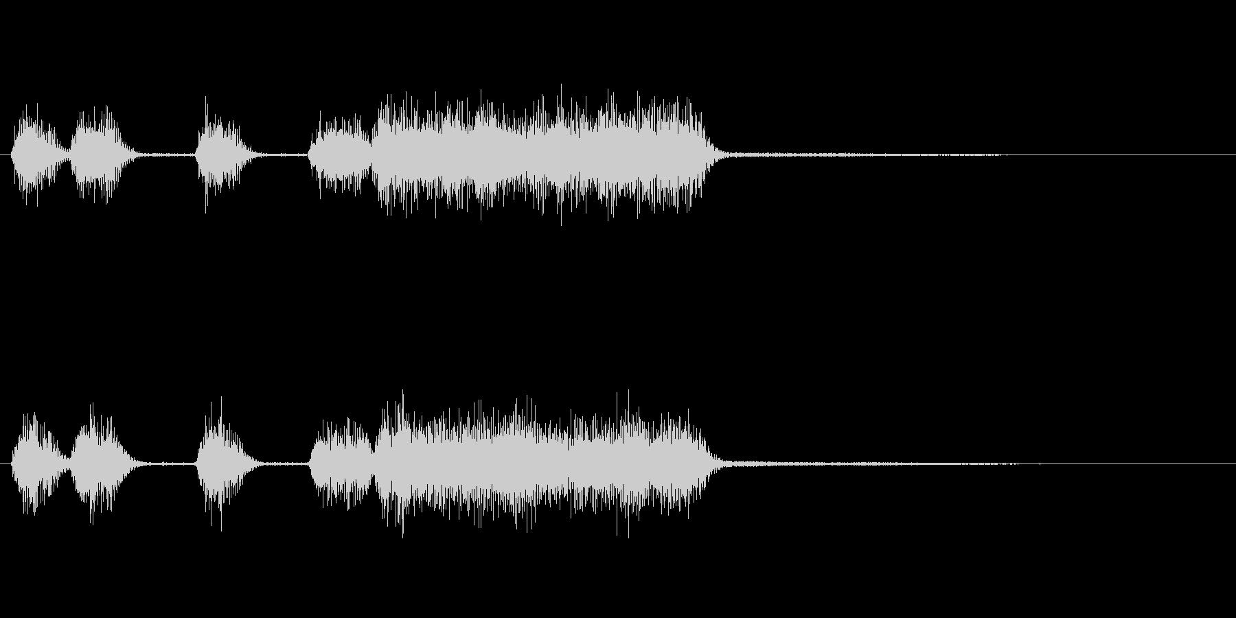 玩具系ファンファーレ-04の未再生の波形