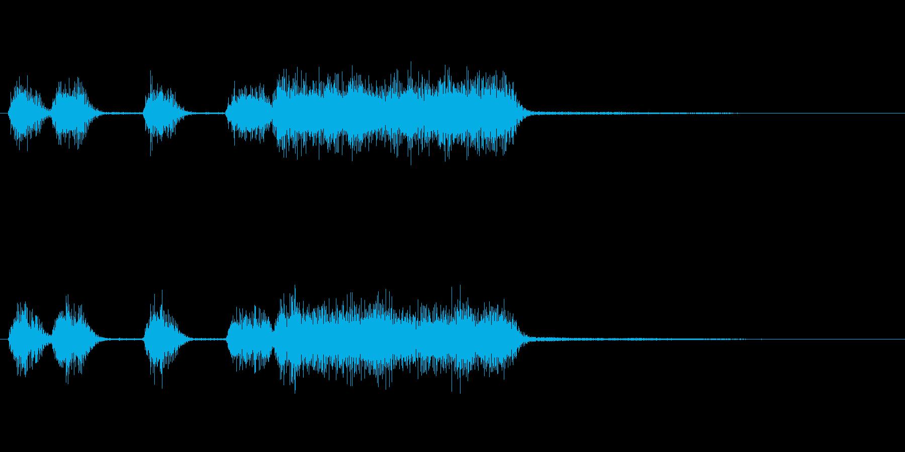 玩具系ファンファーレ-04の再生済みの波形