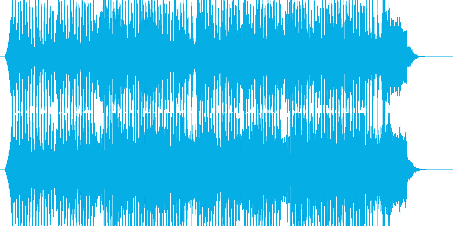 企業PV,CM 明るく前向きな楽曲です!の再生済みの波形