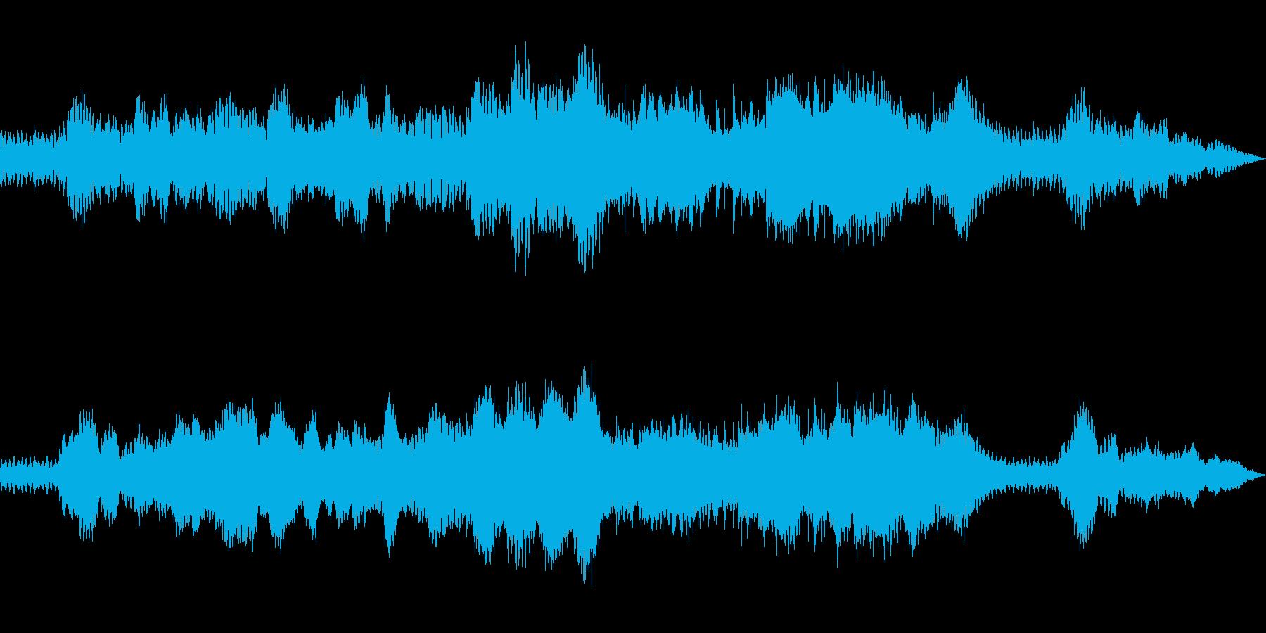 謎解きゲームのOP風BGMの再生済みの波形