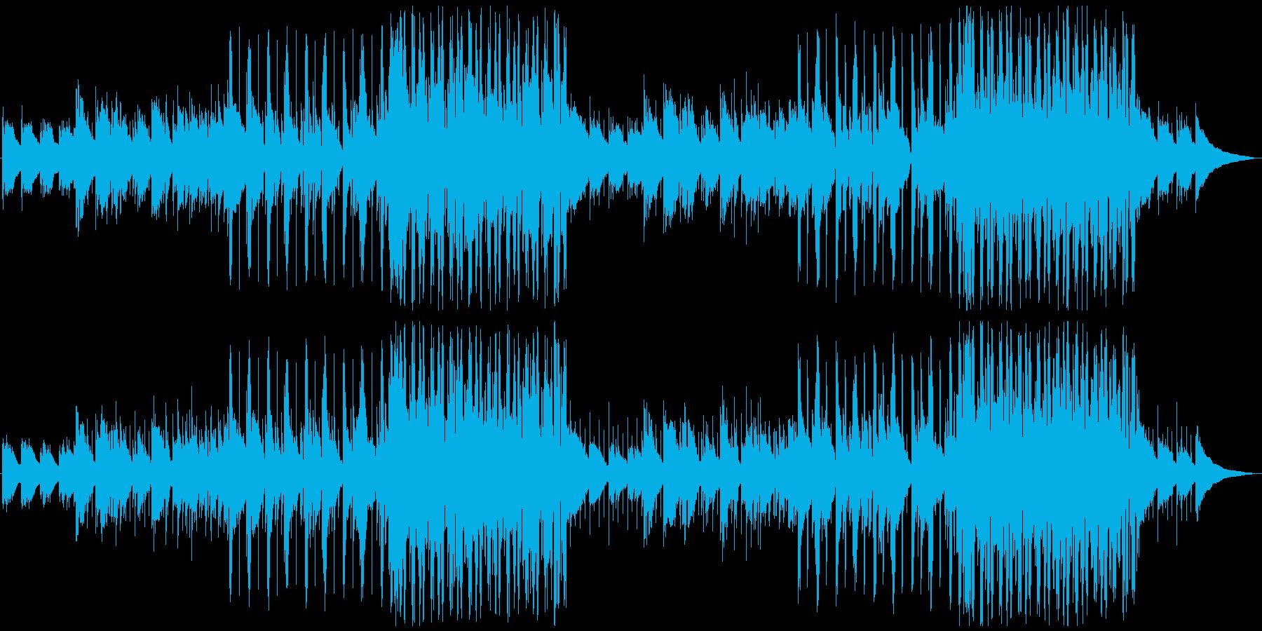 ポップ、アコギ、オシャレでほのぼのの再生済みの波形