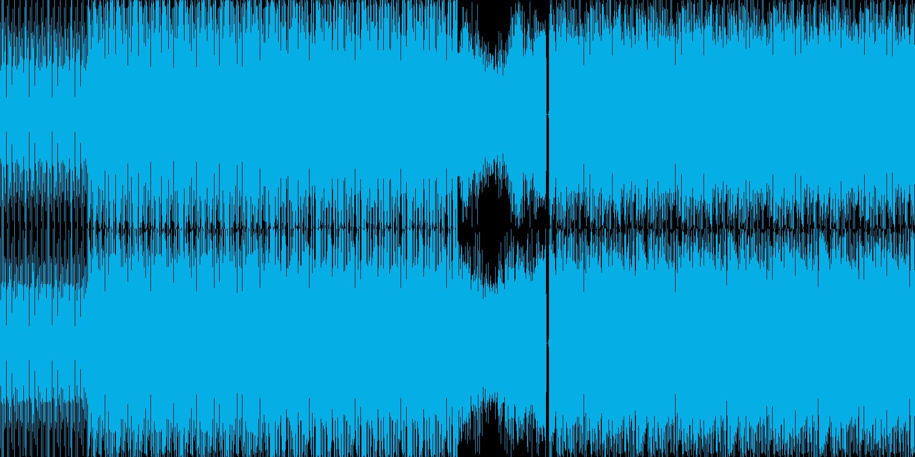【トランス系ダンスミュージック】の再生済みの波形