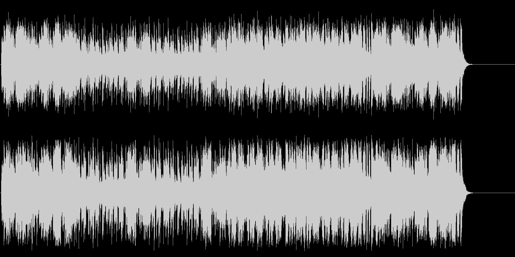 明るく爽やかなポップス(イントロ~A…)の未再生の波形