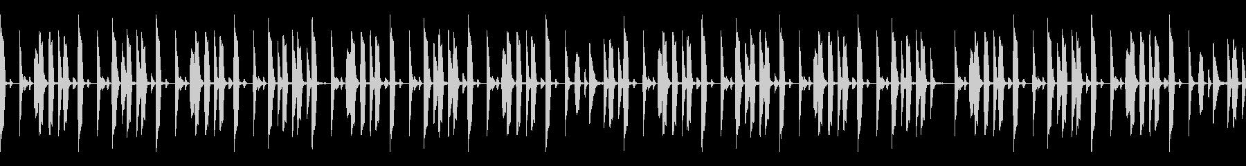 BPM100 ドラムループの未再生の波形