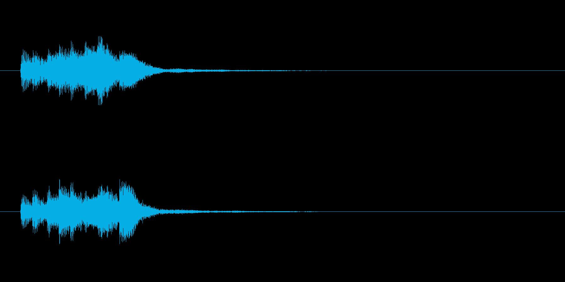 【ショートブリッジ10-1】の再生済みの波形