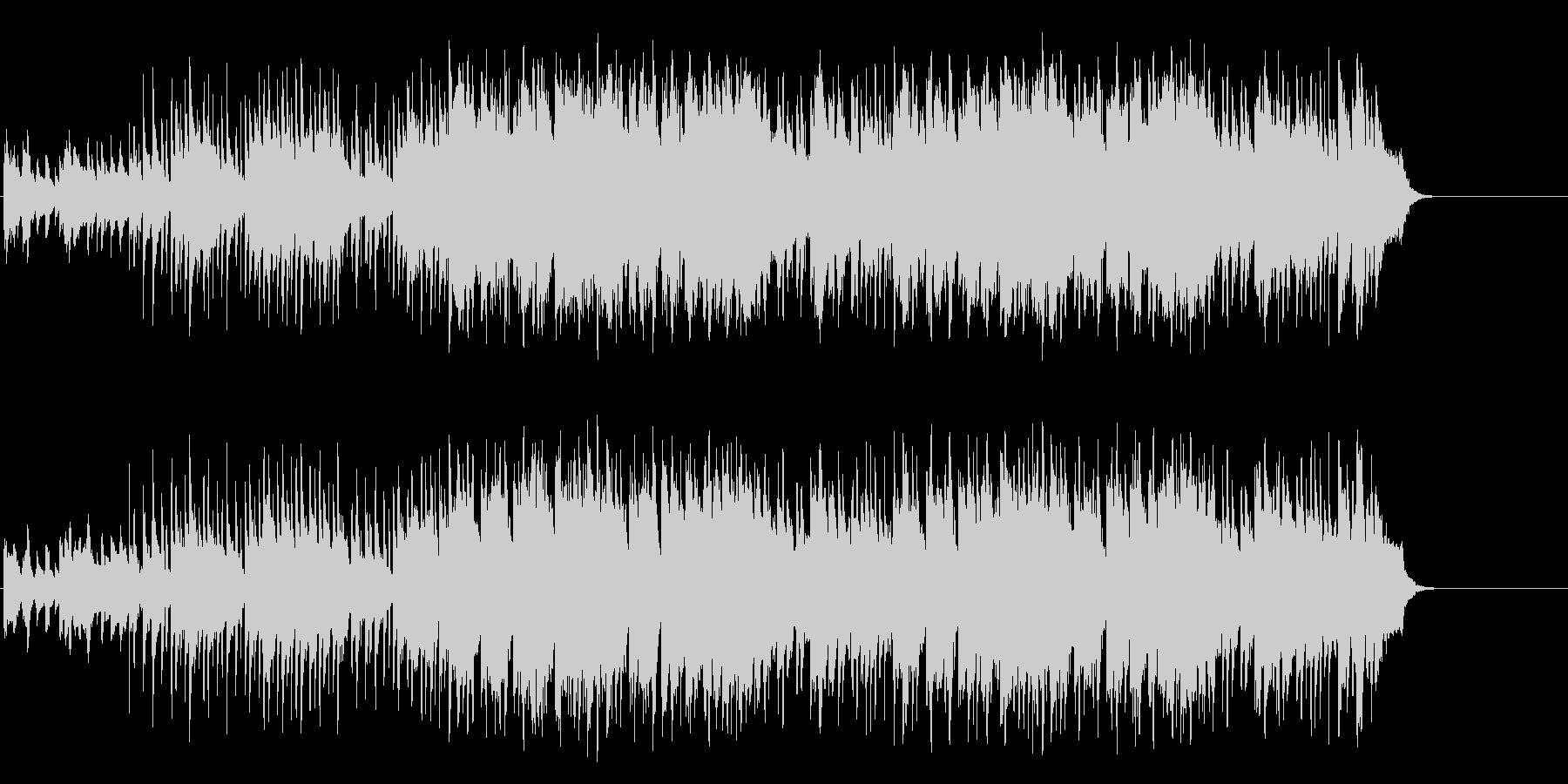 のんびりと爽やかなポップ(イントロ~…)の未再生の波形