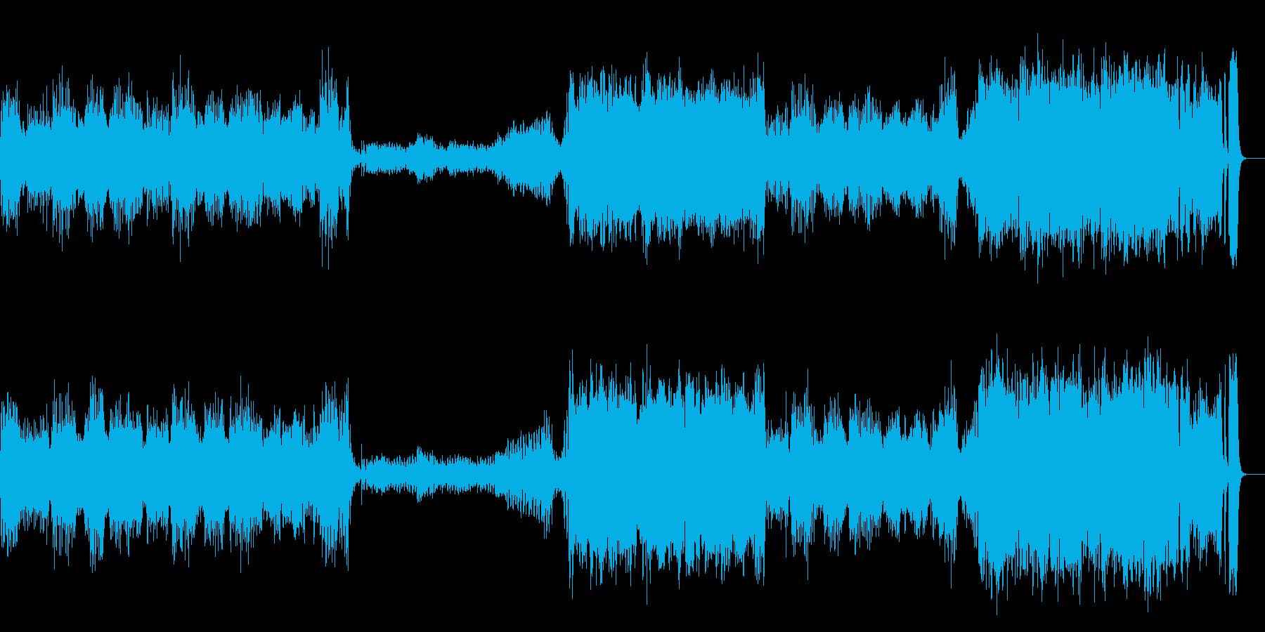 『威風堂々 』 第1番 オーケストラの再生済みの波形