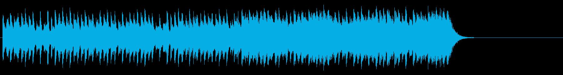 出発のエンディングBGM(Aメロ~サビ)の再生済みの波形