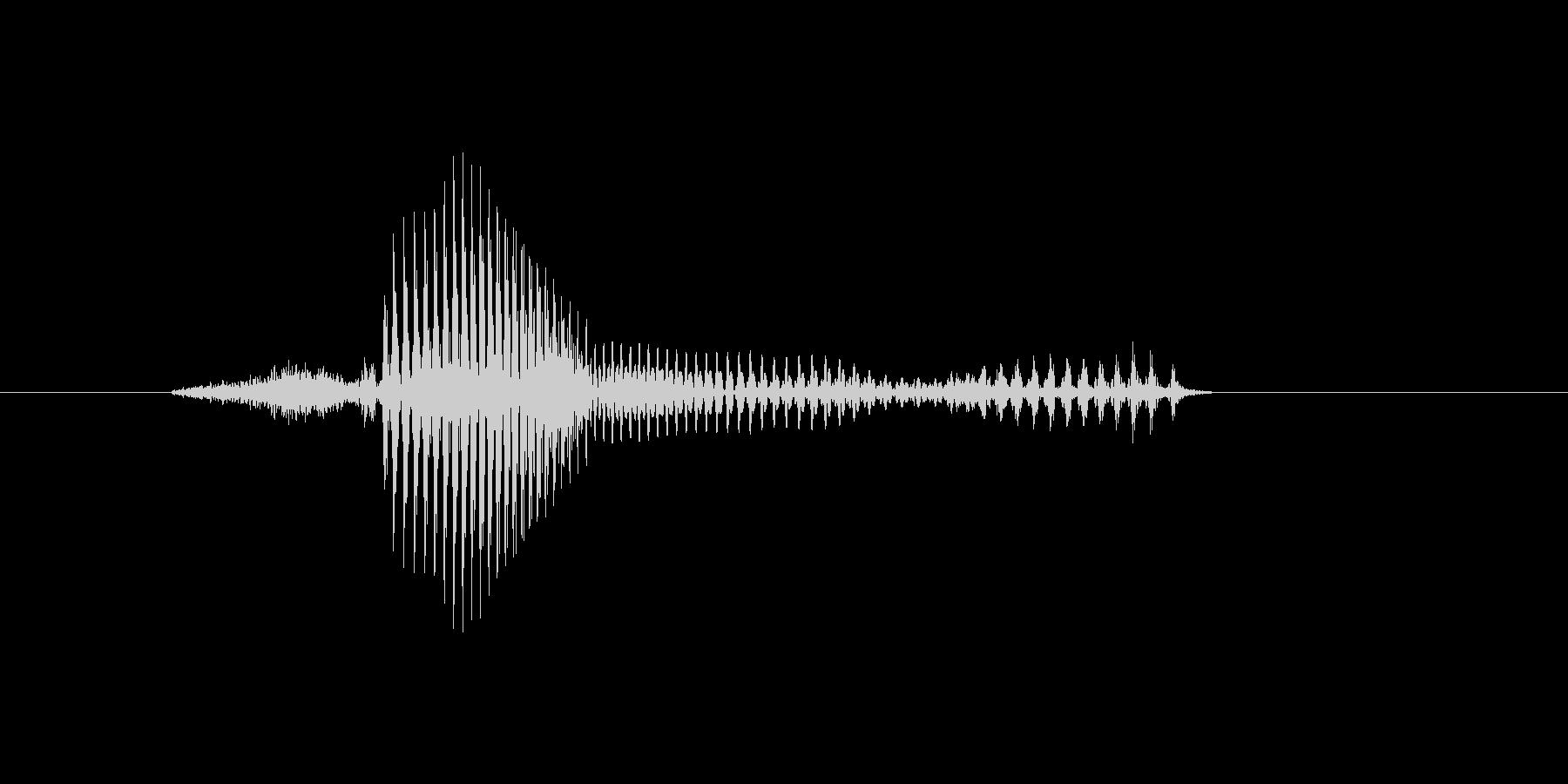 3時の未再生の波形