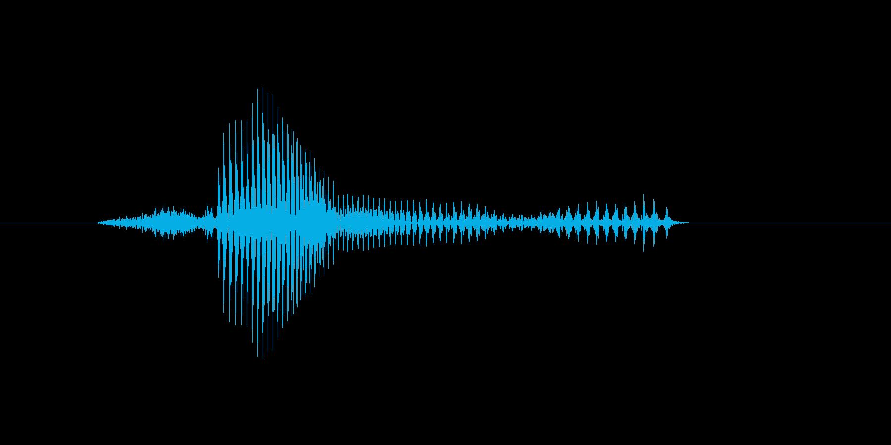3時の再生済みの波形