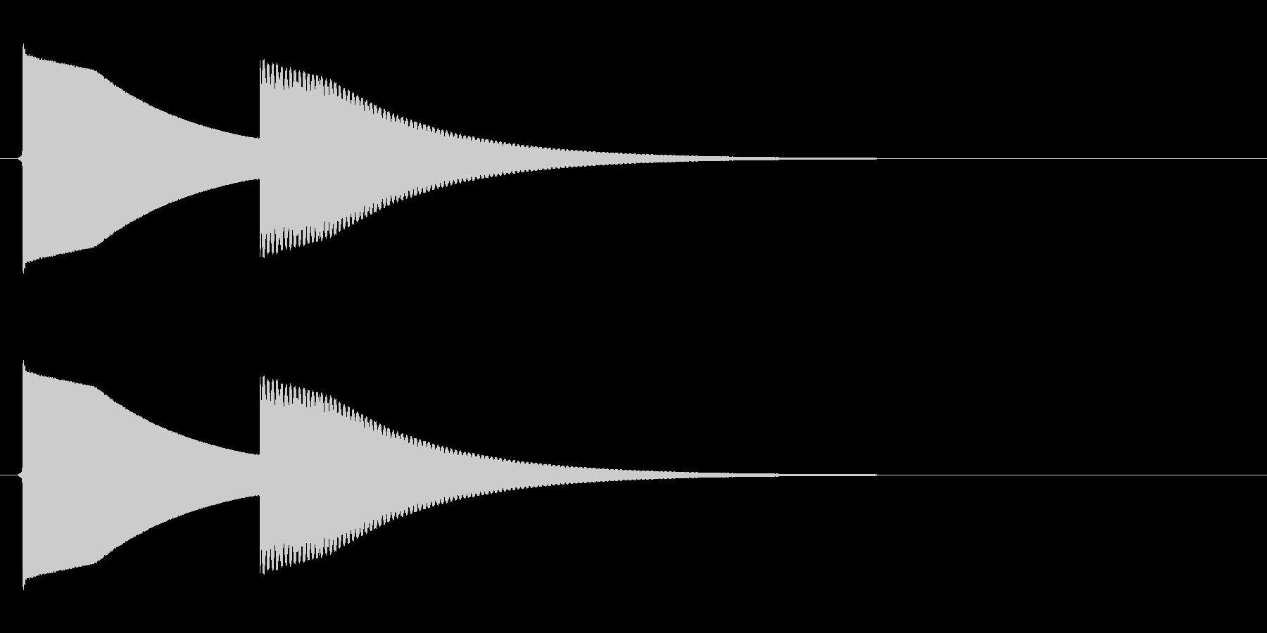 【SE】正解04(ピンポーン 長め)の未再生の波形