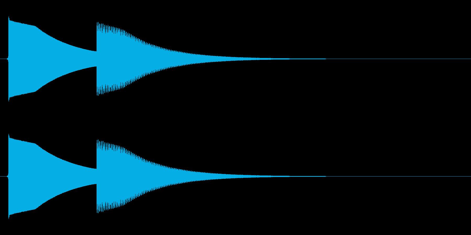 【SE】正解04(ピンポーン 長め)の再生済みの波形