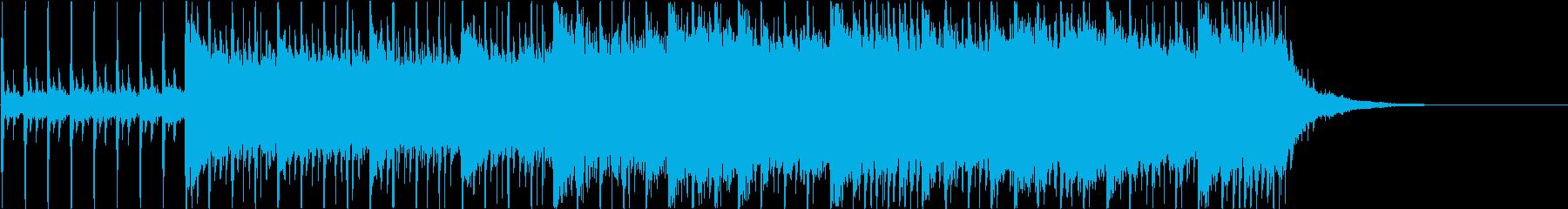【30秒版】透明感のある企業ムービー向…の再生済みの波形