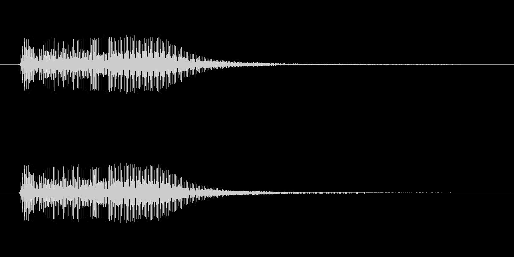 アプリ・ゲームの決定音_004の未再生の波形