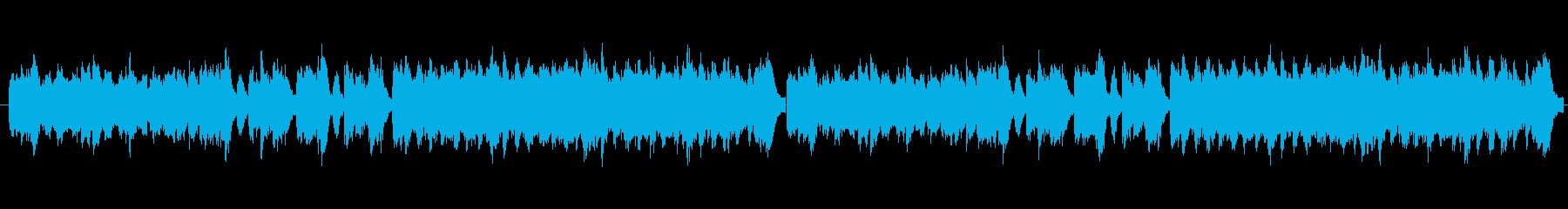 マリンバが印象的なかわいらしい曲です。…の再生済みの波形
