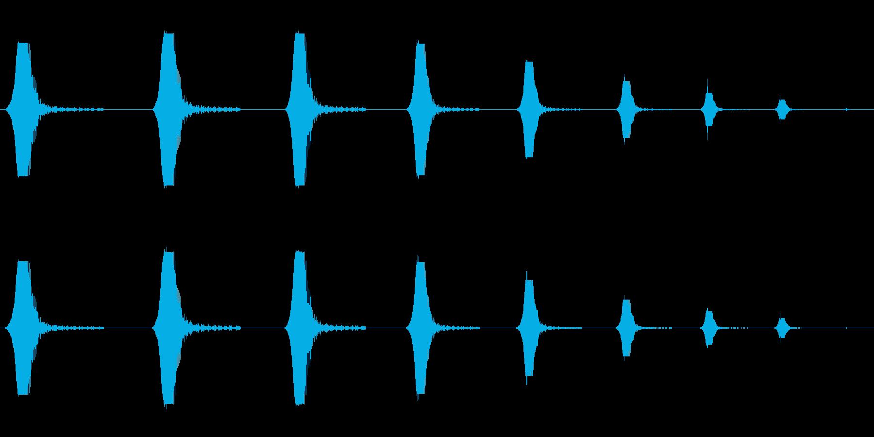 プワプワプワプワァ(潜水時・回想時など)の再生済みの波形