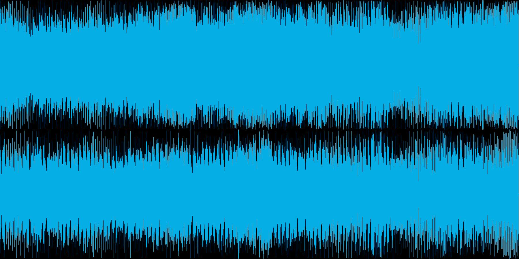 日本の祭り的なEDMの再生済みの波形