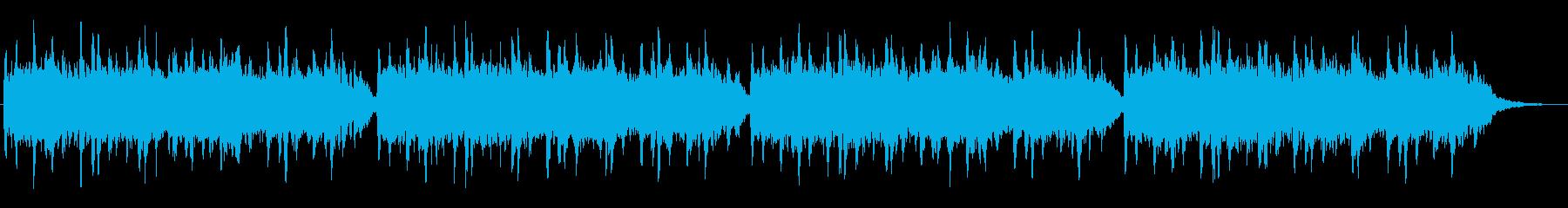 エンヤ風のシンセが特徴的なジングルの再生済みの波形