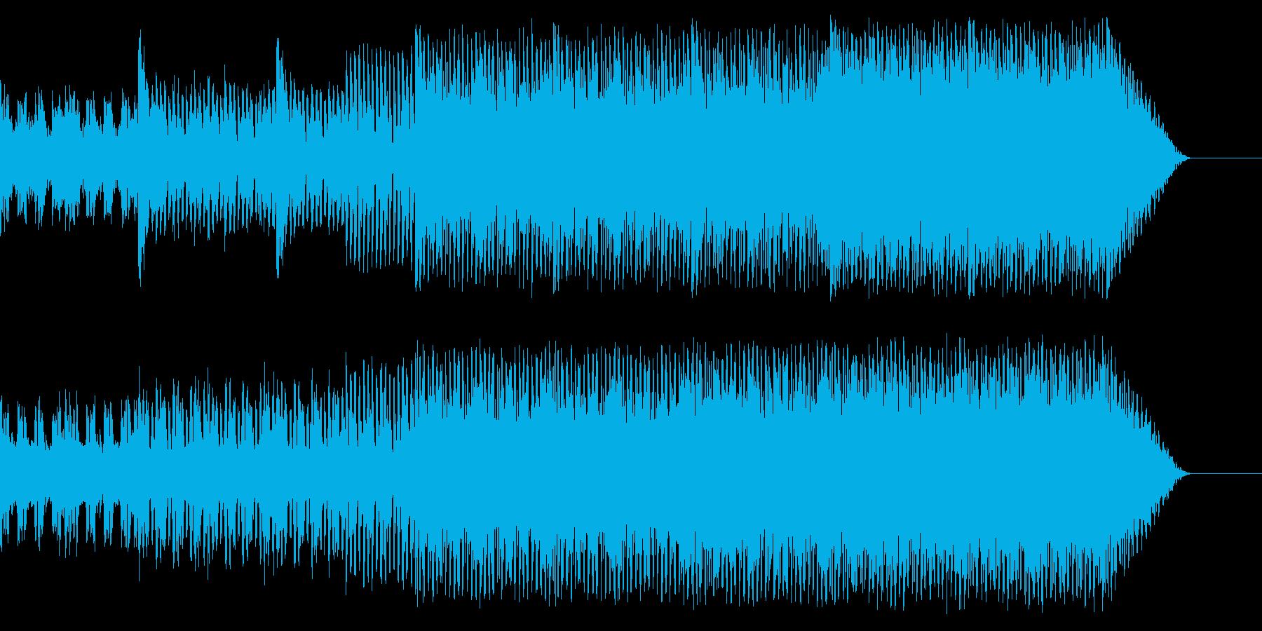 強い気持ちになれる始まりの1曲の再生済みの波形