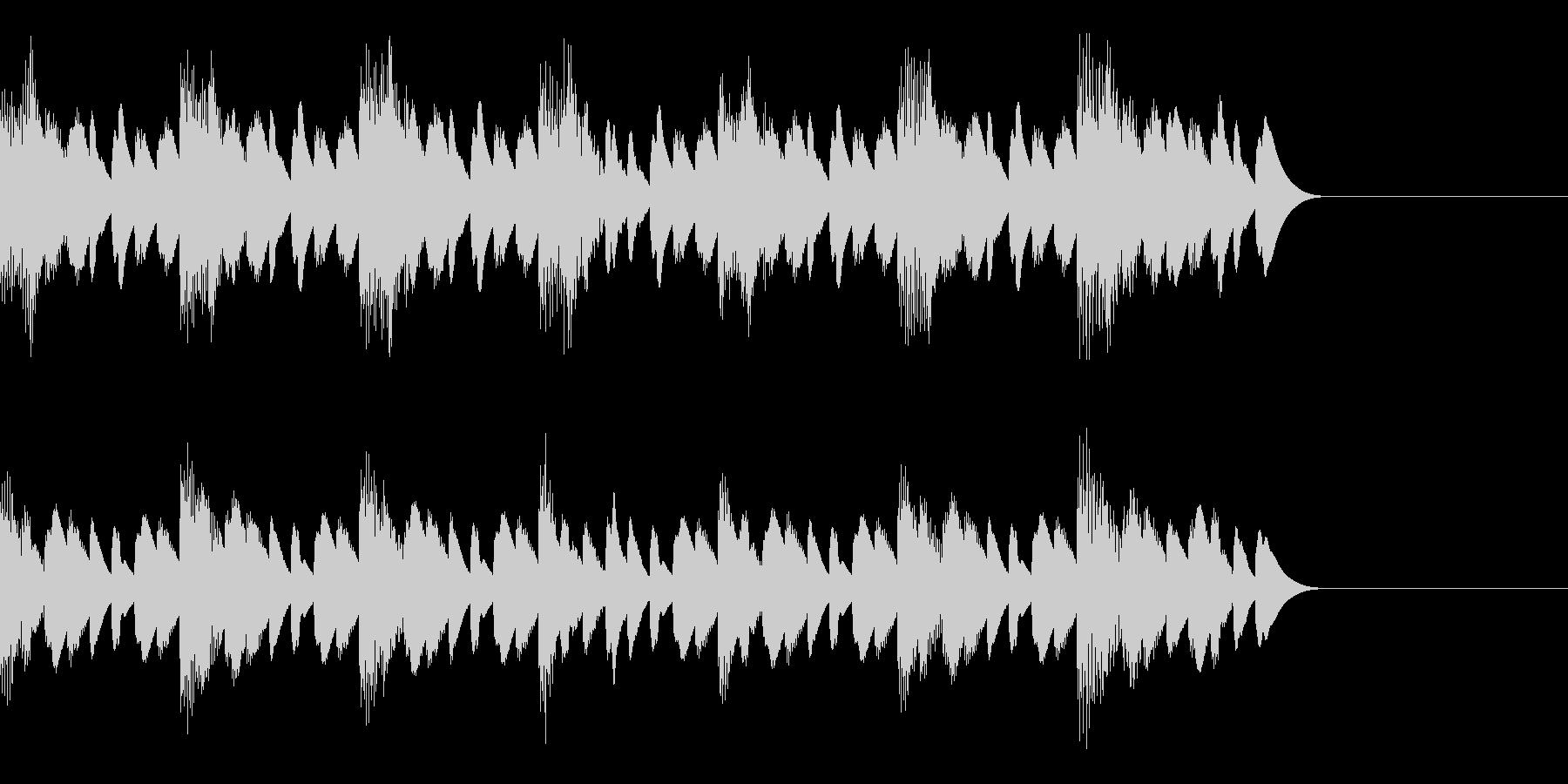 15秒CM用 マリンバSEの未再生の波形