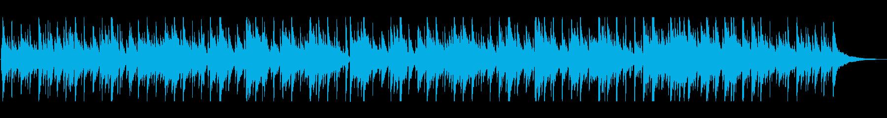 一日の終わりに聞きたい優しいボサノヴァの再生済みの波形