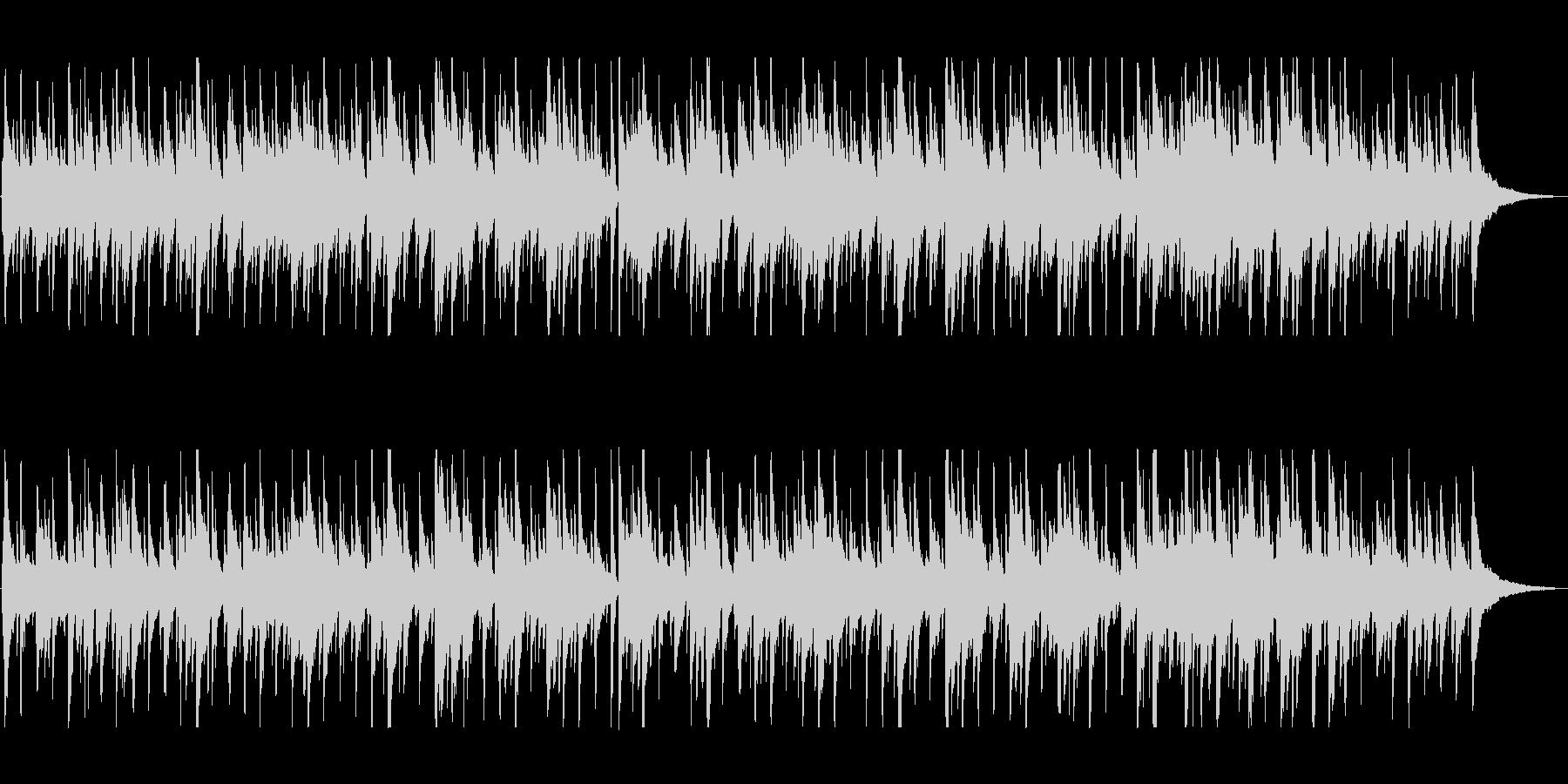 一日の終わりに聞きたい優しいボサノヴァの未再生の波形