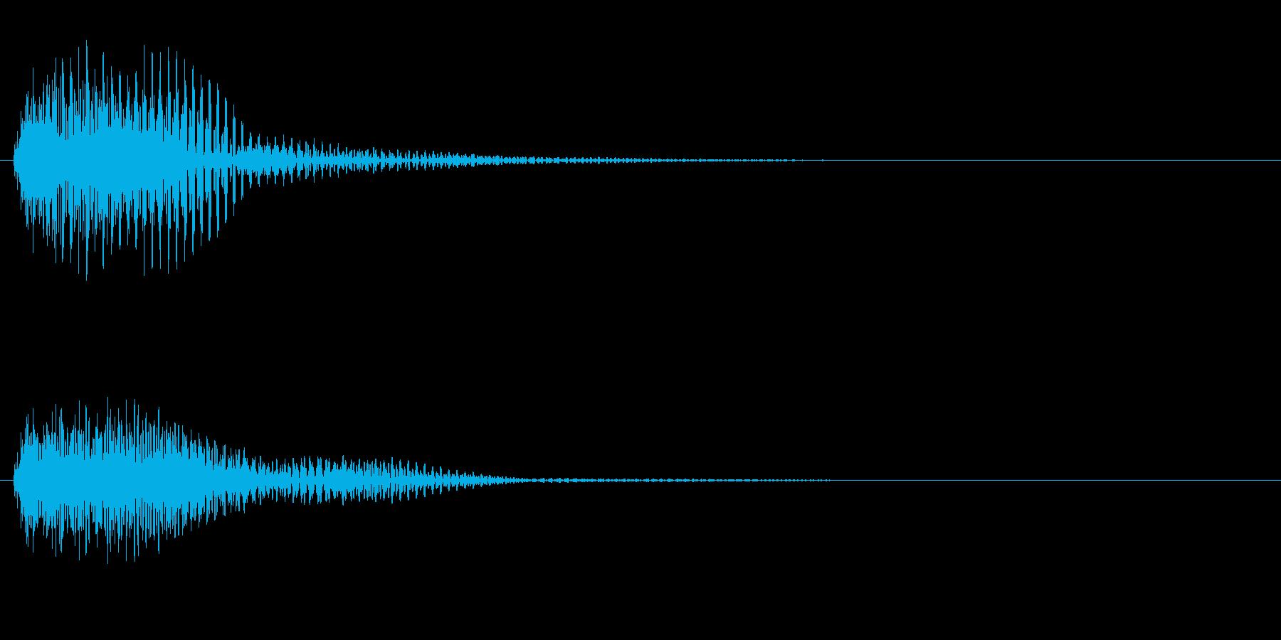 軍隊3 スタート音 豪華決定音の再生済みの波形