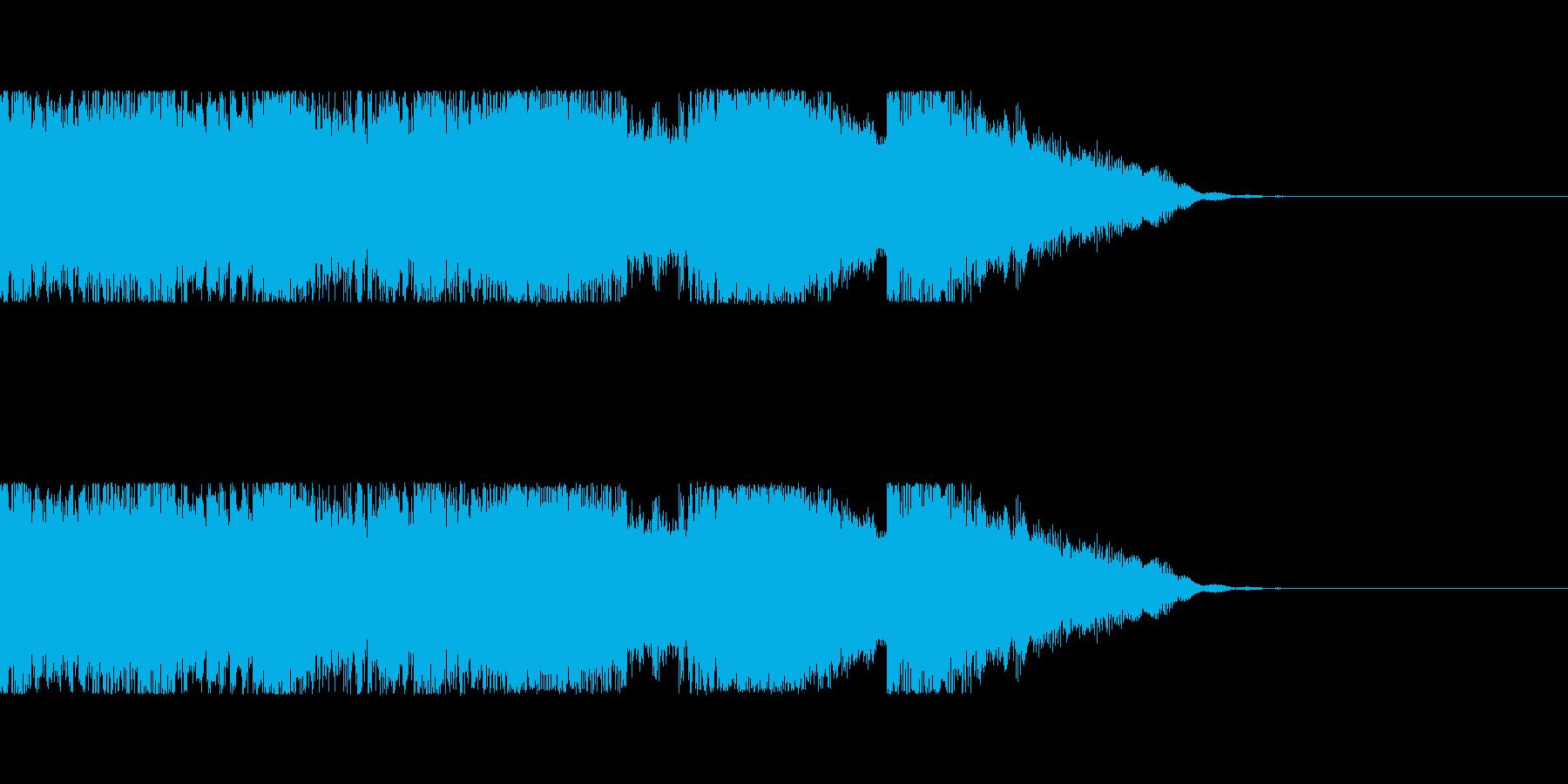 発車メロディ などにの再生済みの波形