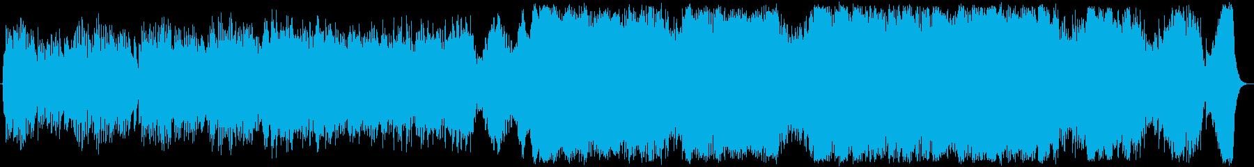 ピアノ協奏曲風の壮大なバラードの再生済みの波形