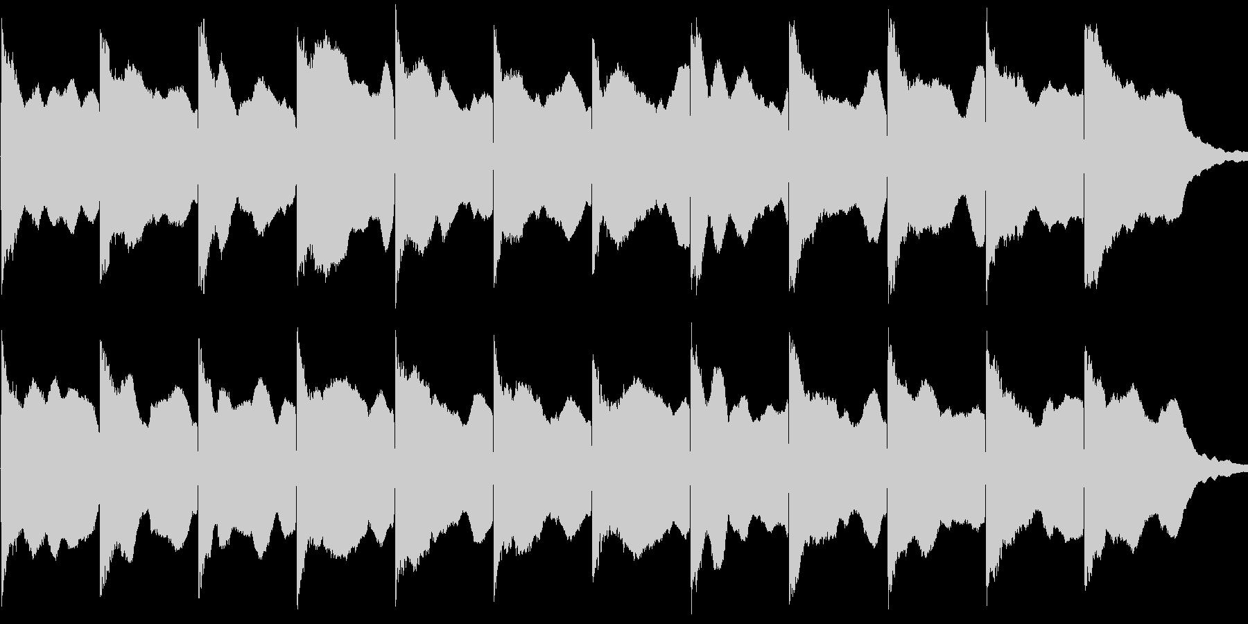カンカン音 サイレン 警笛 踏切音の未再生の波形