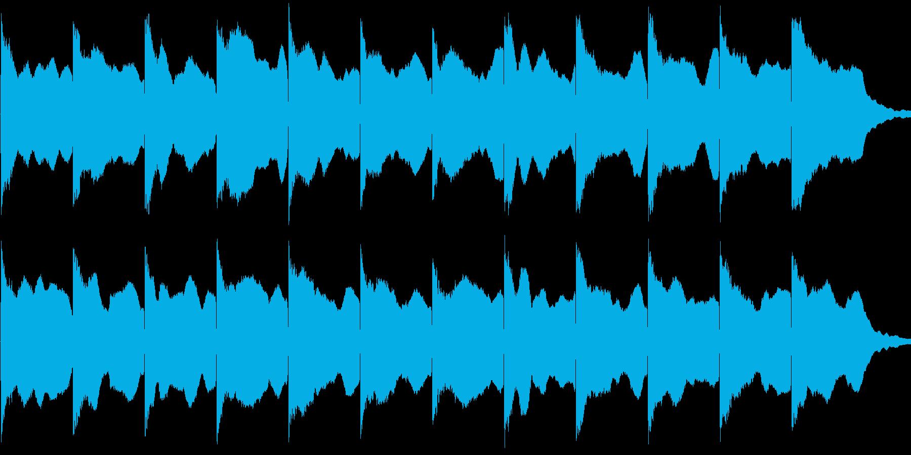 カンカン音 サイレン 警笛 踏切音の再生済みの波形