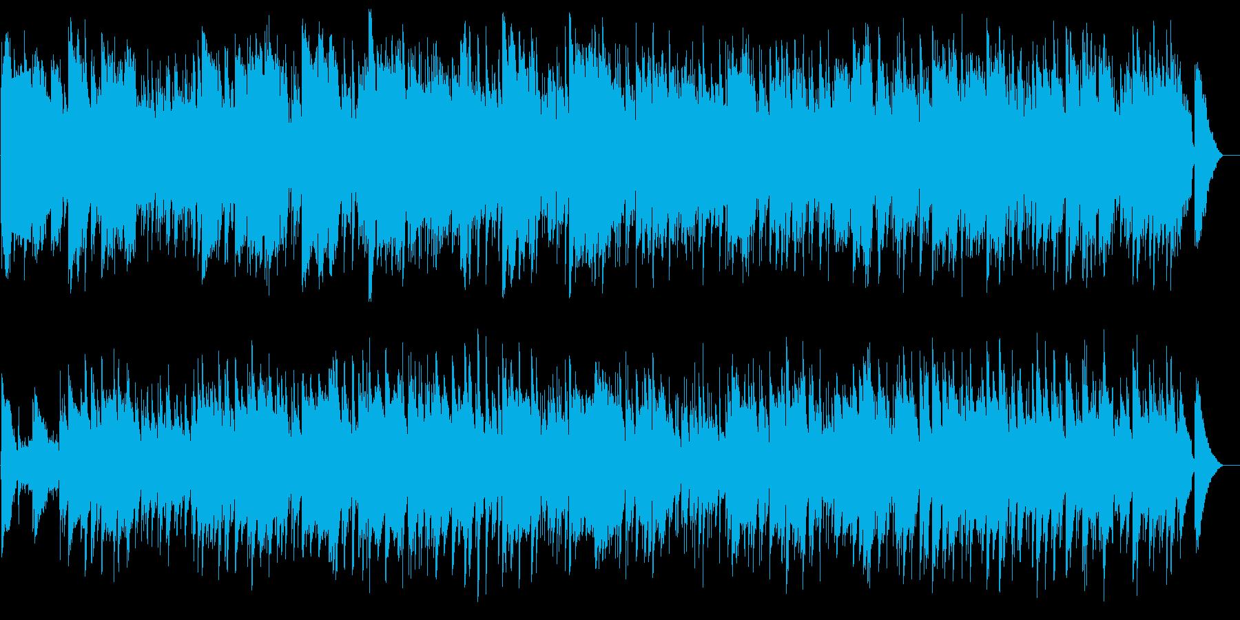 南国的なヒーリングミュージックの再生済みの波形