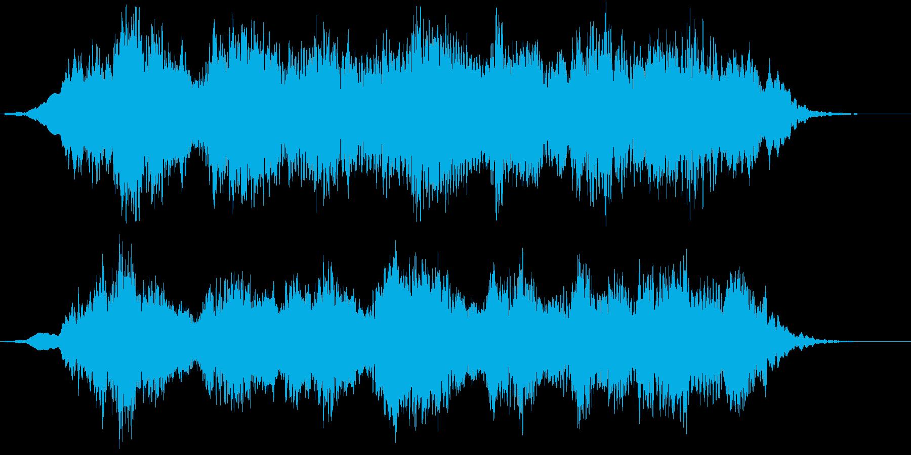 WetなGuitarのさざ波のようなA…の再生済みの波形