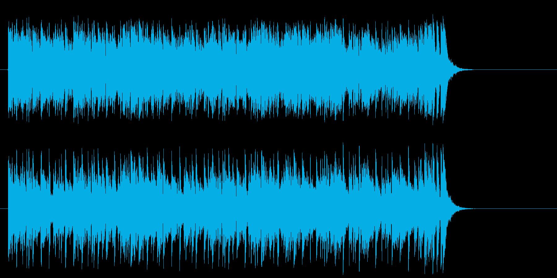 リゾート気分のポップ(サビ~イントロ)の再生済みの波形