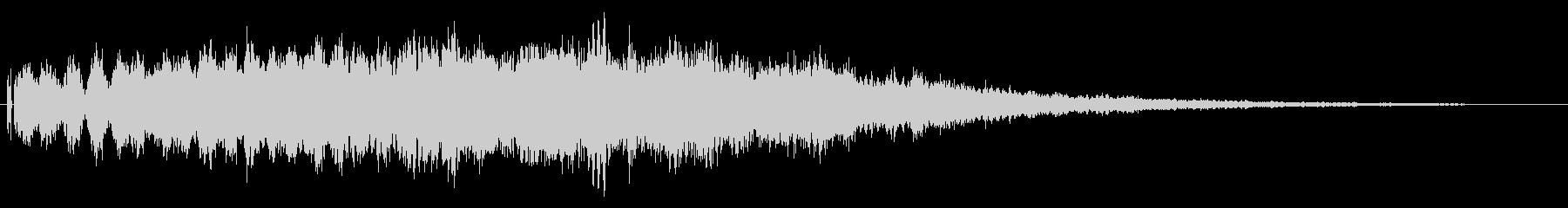 不気味なカットインや場面転換の効果音02の未再生の波形