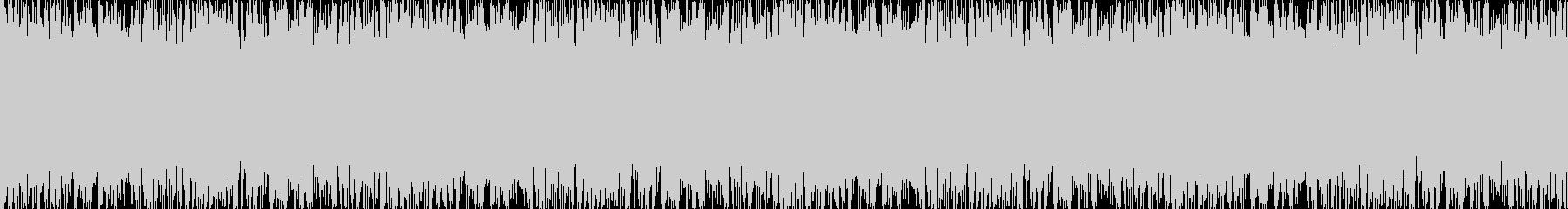 疾走感のあるオーケストラBGMの未再生の波形